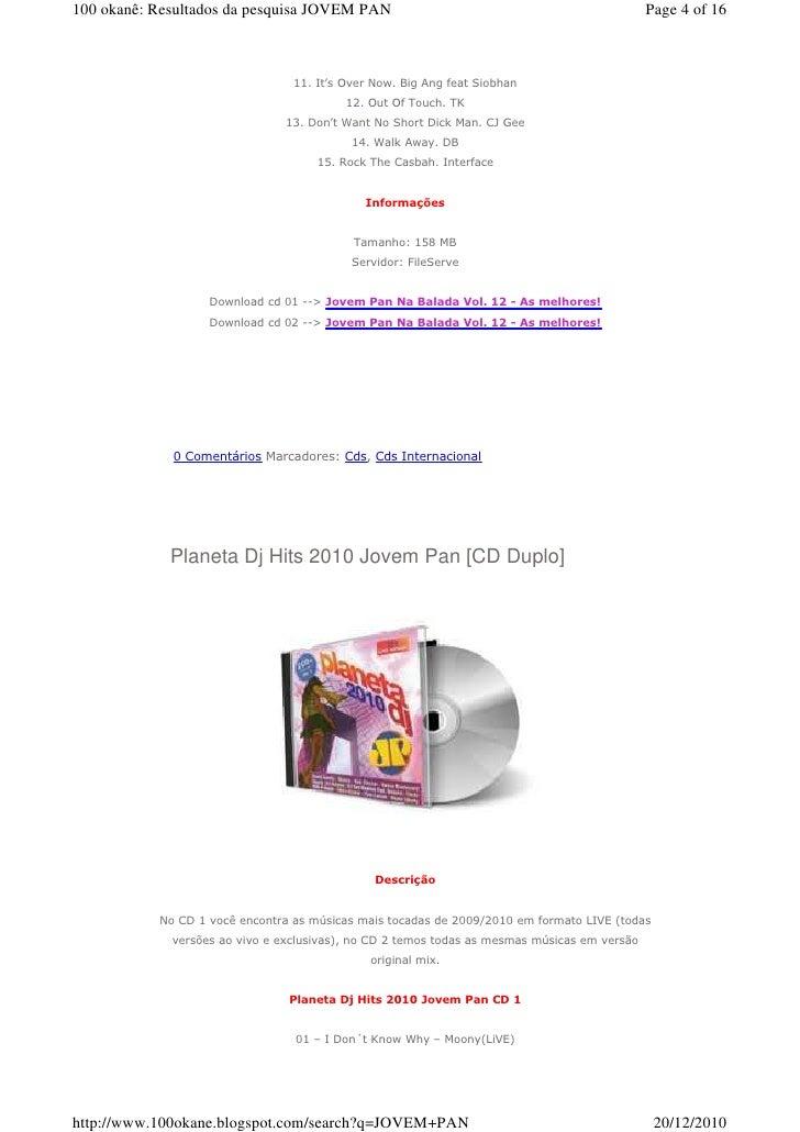 2010 PAN NA JOVEM BAIXAR CD BALADA