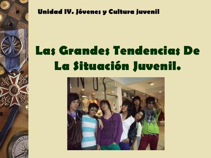 Jovenes y cultura juvenil
