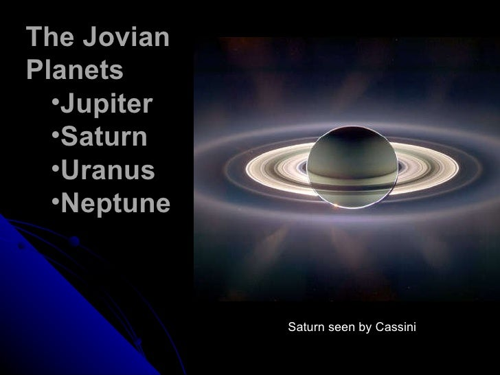 the jovian planets by size - photo #29