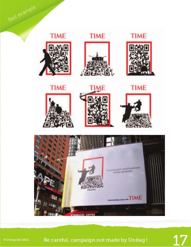 © Unitag SAS 2012 Be careful, campaign not made by Unitag !22Good example