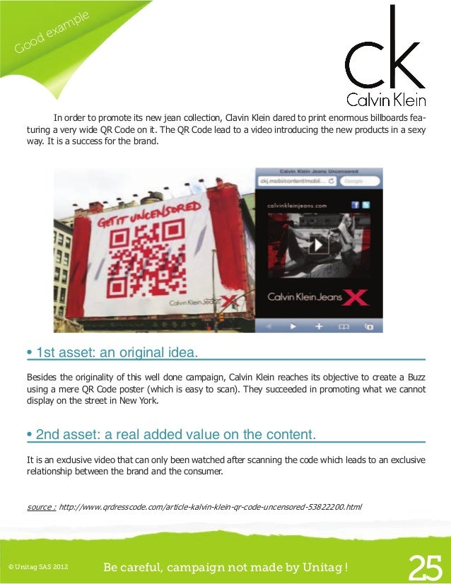 www.unitaglive.com© Unitag SAS 201230It is crucial to think about all the components of a QR Code campaign. Its content, h...