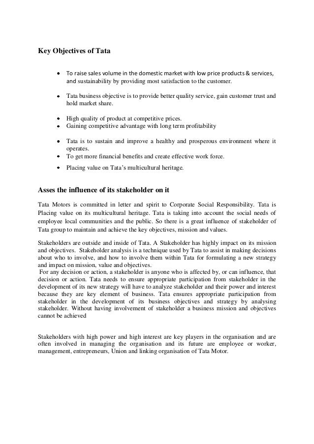 student assignment business environment