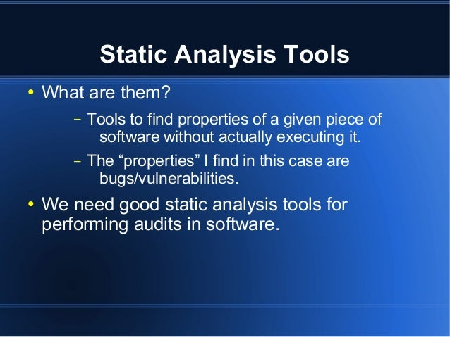 Joxean Koret - Interactive Static Analysis Tools for Vulnerability Discovery [Rooted CON 2013] Slide 2