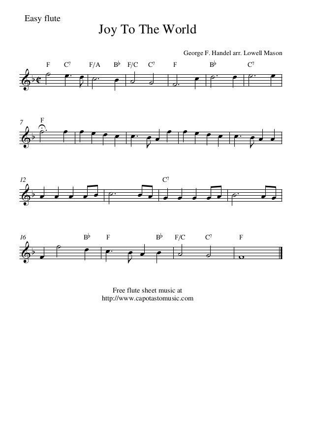 Joy to-the-world-flute