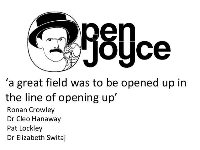 'a great field was to be opened up inthe line of opening up'Ronan CrowleyDr Cleo HanawayPat LockleyDr Elizabeth Switaj