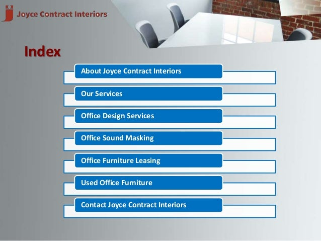 ... Contract Interiors, Inc. 2.