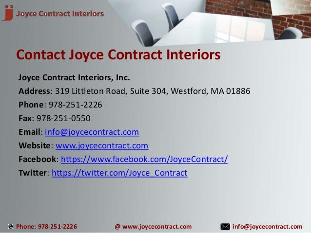 ... 9. Joyce Contract Interiors ...