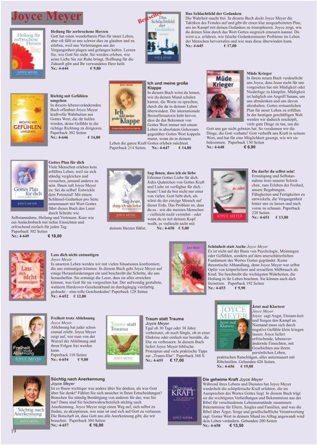 Bücher von Joyce Meyer