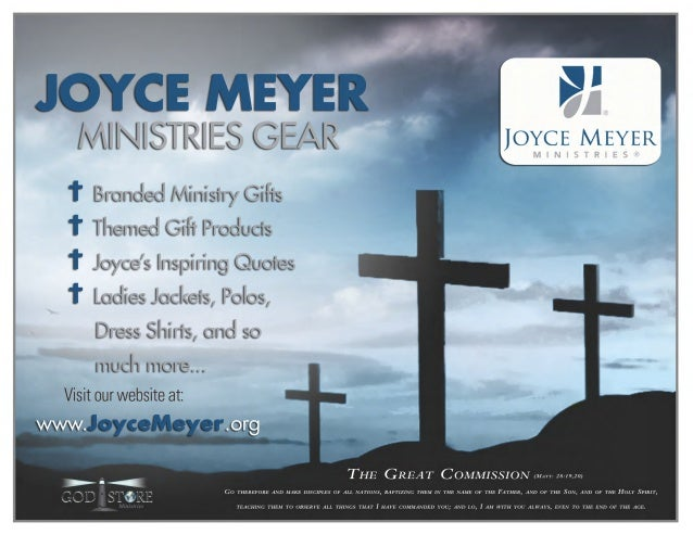 Joyce Meyer Ministries Informational Packet