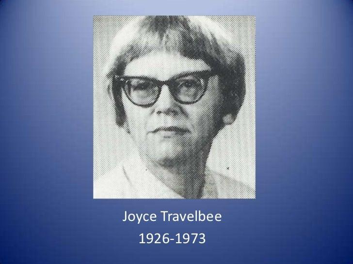 Joyce Travelbee<br />1926-1973<br />