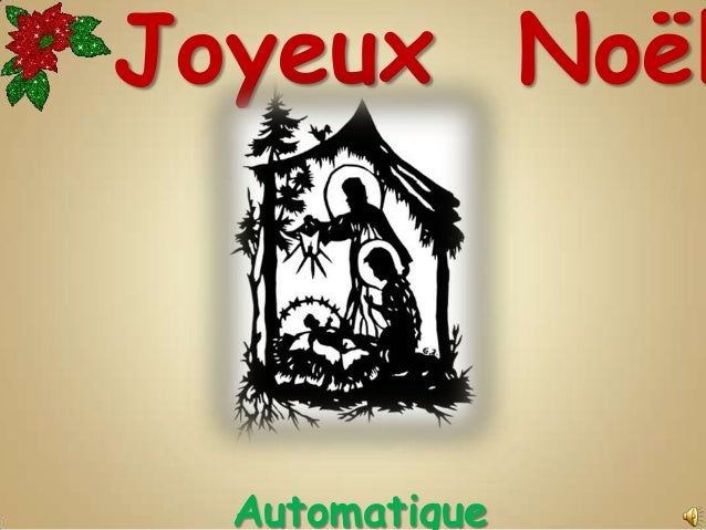 Joyeux Noël  Automatique