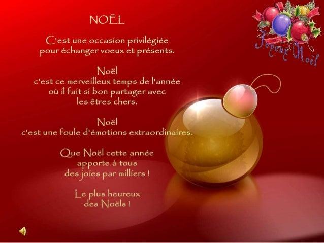 Noël, c'est le parfum des sapins verts, le scintillement de mille lumières et le plaisir du réveillon. Que l'esprit de Noë...