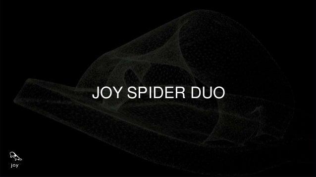 JOY SPIDER DUO K colorido para encantar a garotada