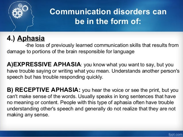 writing and expressive language disorder