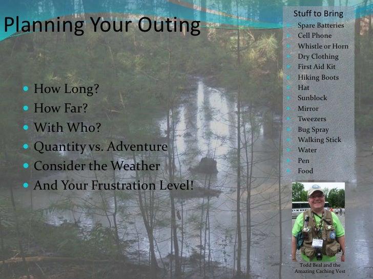 The Joy Of Geocaching