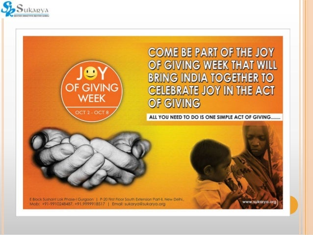 Joy In Giving: How Individuals Can Get Involved
