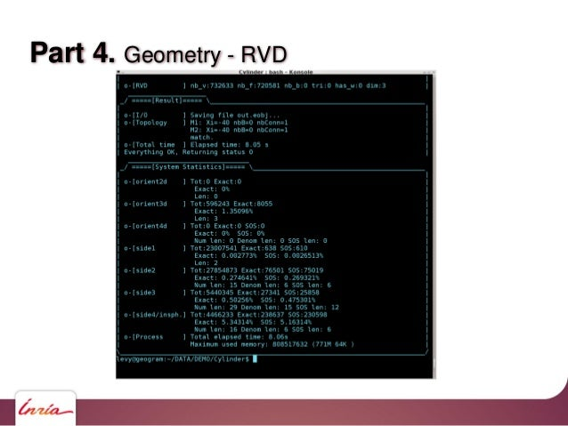 Part 4. Geometry - RVD If we eliminate the zero components during computations, the length of the expansions remain reason...