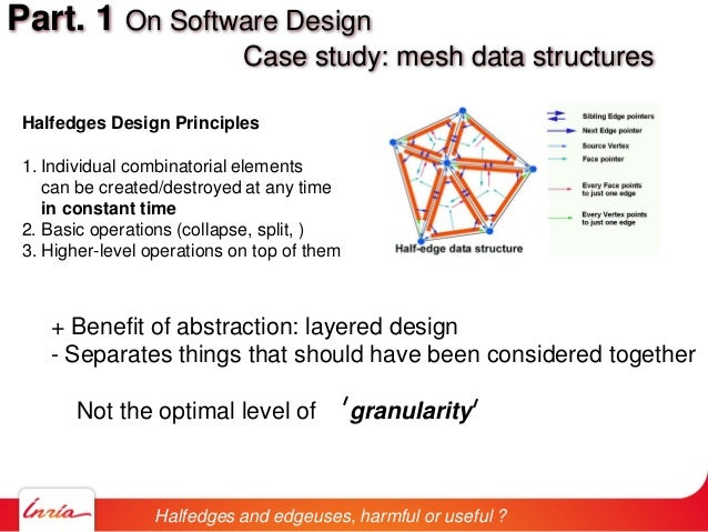 + Benefit of abstraction: layered design - Separates things that should have been considered together Not the optimal leve...