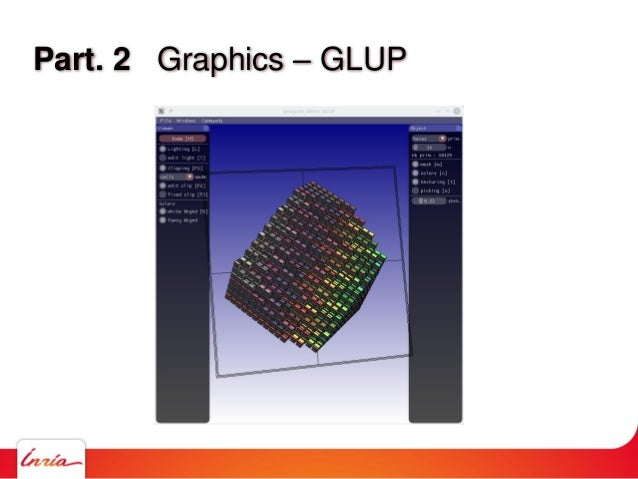 Part. 2 Graphics – GLUP