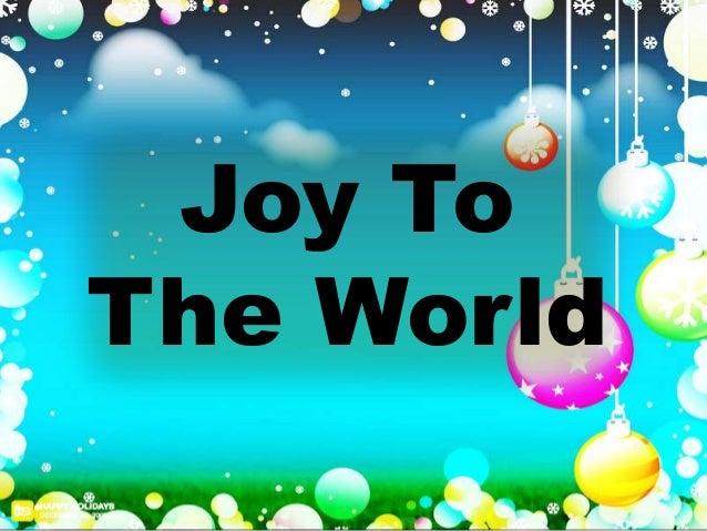 joy to the owrld pdf