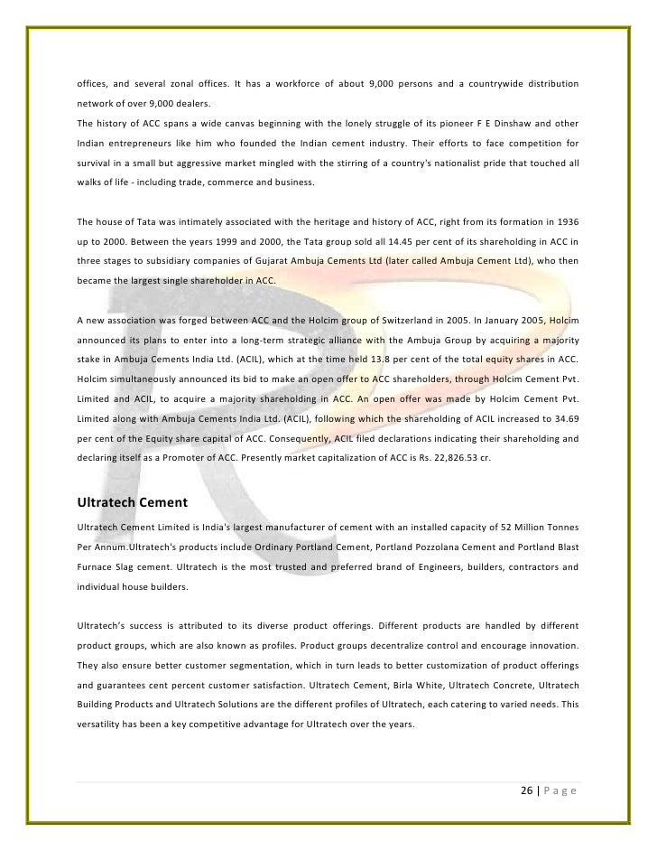 Associated Cement Companies : Jaypee cement ltd