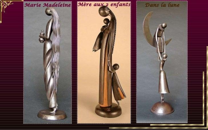 Marie Madeleine Dans la lune Mère aux 2 enfants