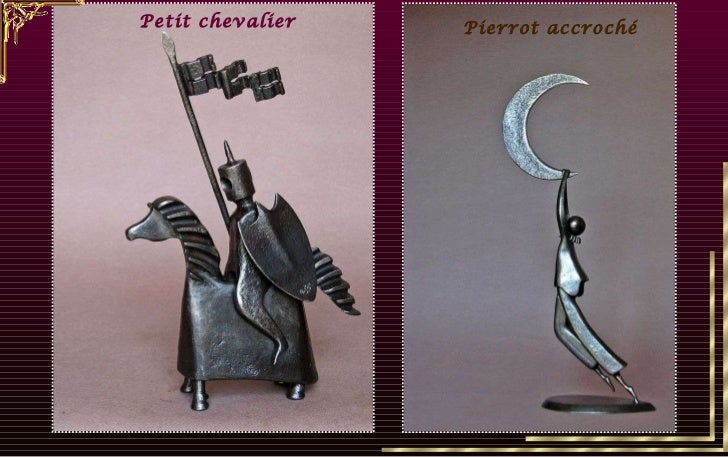 Petit chevalier Pierrot accroché