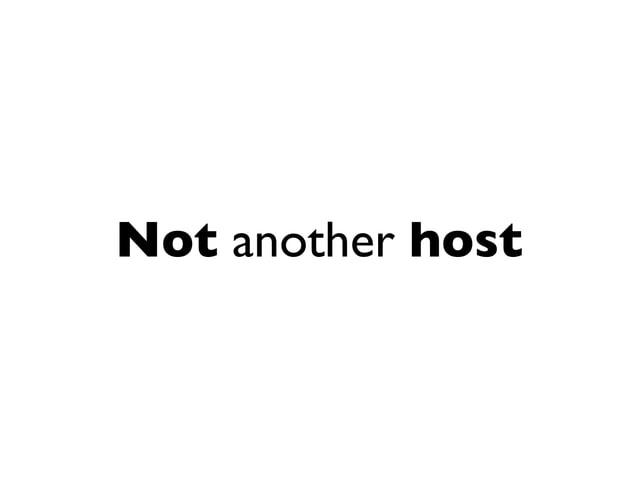 No more open ports