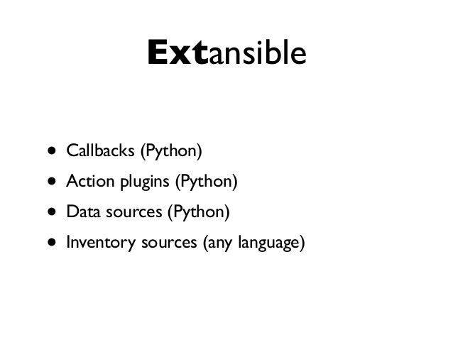 ansible galaxy • reusable roles • New command: ansible-galaxy