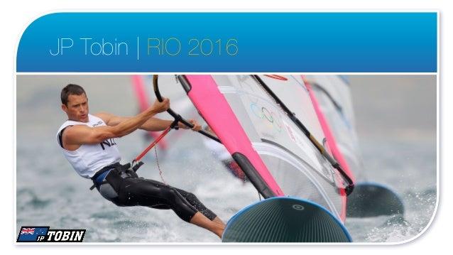 JP Tobin | RIO 2016                      1