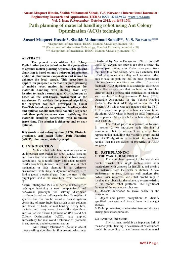 Ansari Muqueet Husain, Shaikh Mohammad Sohail, V. S. Narwane / International Journal of     Engineering Research and Appli...