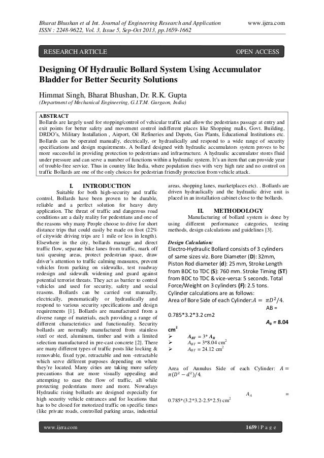 Bharat Bhushan et al Int. Journal of Engineering Research and Application ISSN : 2248-9622, Vol. 3, Issue 5, Sep-Oct 2013,...