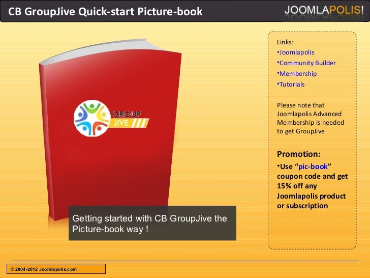CB GroupJive Quick-start Picture-book                                                                 Links:              ...
