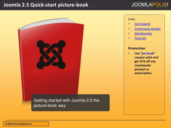 Joomla 2.5 Quick-start picture-book                                                                    Links:             ...