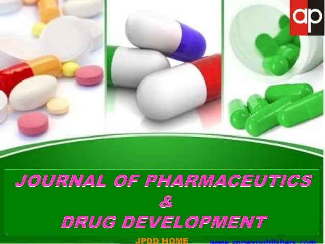 AIMS & SCOPE Journal of Pharmaceutics and Drug Development (JPDD) is a peer- reviewed, open access journal that publishes ...