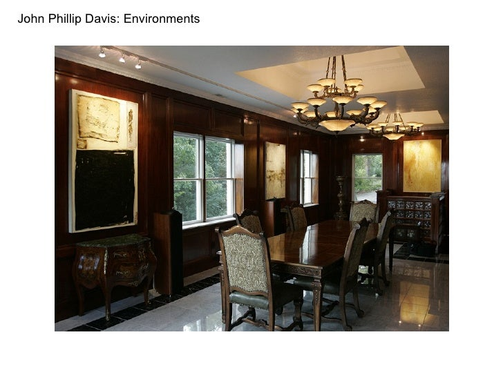 John Phillip Davis: Environments