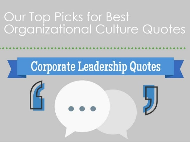 Top Corporate Leadership Quotes