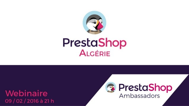 PrestaShop presentation