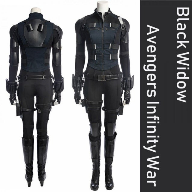 A001 Marvel Comics The Avengers Infinity War Black Widow
