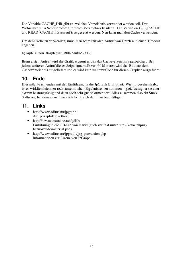 Die Variable CACHE_DIR gibt an, welches Verzeichnis verwendet werden soll. Der  Webserver muss Schreibrechte für dieses Ve...