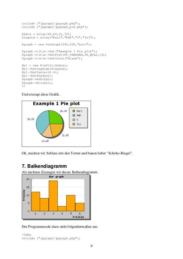 """9  include (""""jpgraph/jpgraph.php"""");  include (""""jpgraph/jpgraph_pie.php"""");  $data = array(40,60,21,33);  $legend = array(""""P..."""
