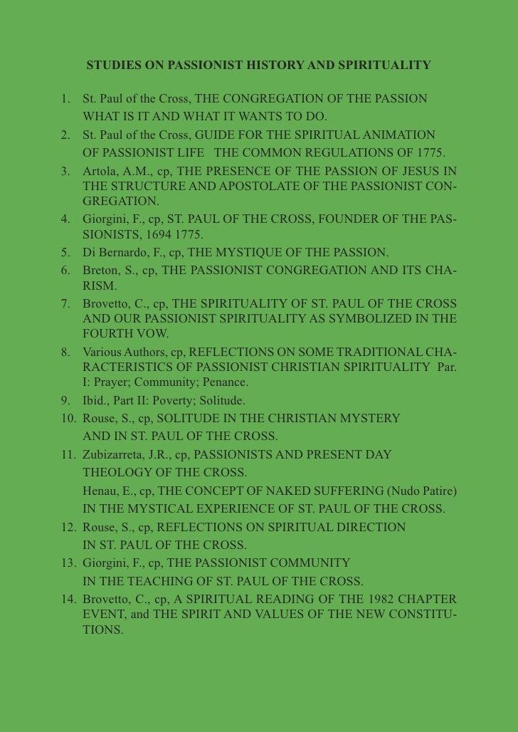 Passionist JPIC booklet (english)