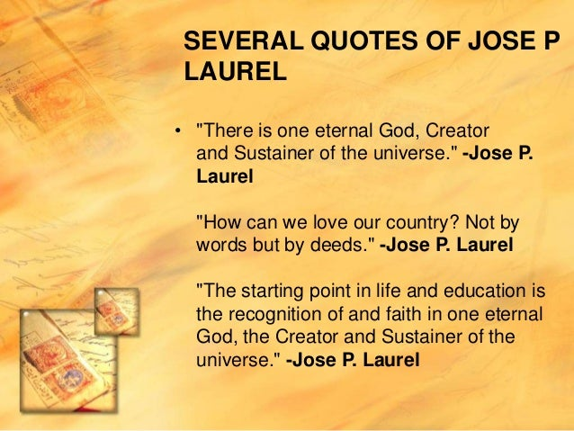 11 Reasons Why Jose P. Laurel Was A Total Badass