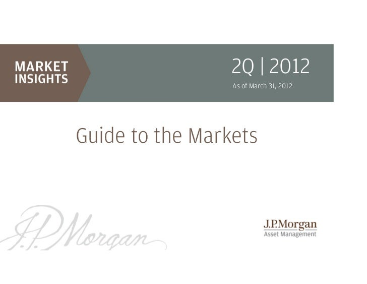 2Q | 2012                 As of March 31, 2012Guide to the Markets