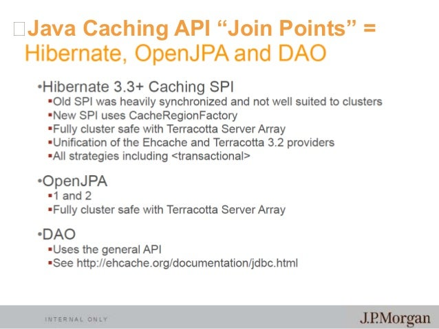 Data Locality, Latency and Caching: JSR-107 and the new ...