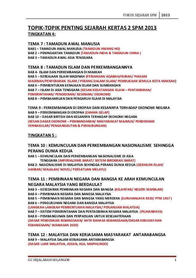 Jpns Sejarah Kertas 2 Spm 2013
