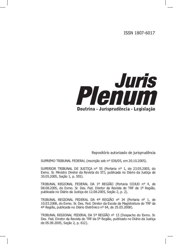 ISSN 1807-6017                                                   Juris                       Plenum                       ...