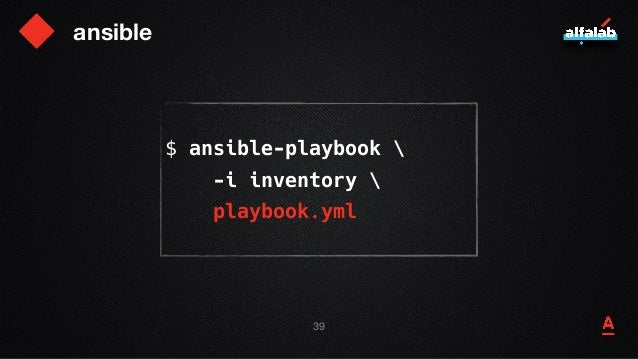ansible inventory [frontend] server1 server2 [backend] server3 [backend:vars] timeout = 2s 40