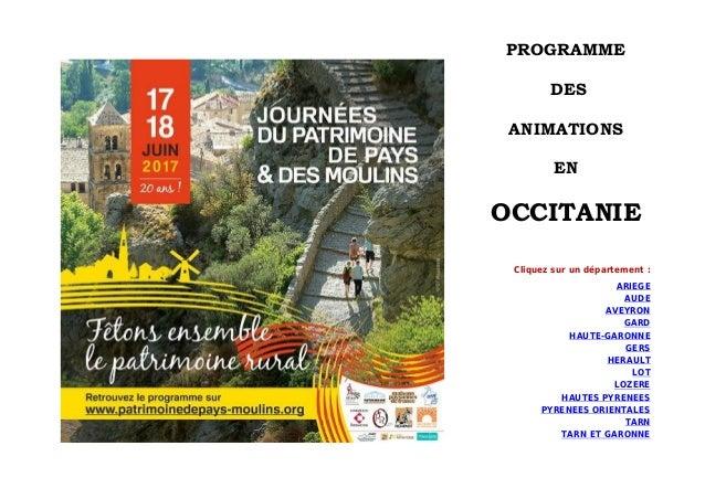 Moulins Du Et Journees En Des De Occitanie Patrimoine Pays 3FKuJT1cl