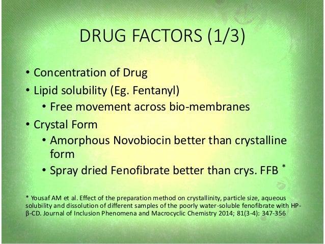 Factors affecting drug metabolism sex